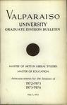 Graduate Catalog, 1972-1973 & 1973-1974