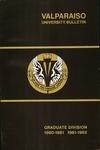Graduate Catalog, 1980-1981 & 1981-1982