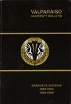Graduate Catalog, 1983-1984 & 1984-1985