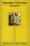 Graduate Catalog, 1992-1993