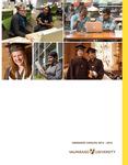 Graduate Catalog, 2015-2016 by Valparaiso University
