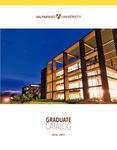 Graduate Catalog, 2016-2017 by Valparaiso University