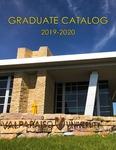 Graduate Catalog, 2019-2020 by Valparaiso University