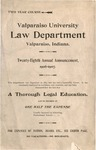 Old School Catalog 1906-1907, The Law Department
