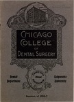 Old School Catalog 1906-07, Chicago College of Dental Surgery