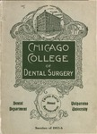Old School Catalog 1905-06, Chicago College of Dental Surgery