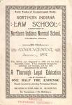 Old School Catalog 1897-98, Law School