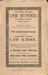 Old School Catalog 1895, Law School