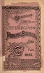 Old School Catalog 1893-94, Annual Catalog