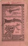 Old School Catalog 1891-92, Annual Catalog