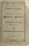 Old School Catalog 1881, Annual Catalog