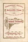 Old School Catalog 1876, Graduating Exercises of the Scientific Class