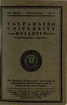 Old School Catalog 1919-20, Third Quarter Bulletin by Valparaiso University