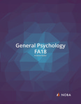 General Psychology (Fall 2018) by Andrew Butler