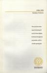 Undergraduate Catalog, 1998-1999