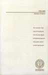 Undergraduate Catalog, 1999-2000