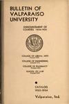 Undergraduate Catalog, 1933-1934