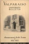 Undergraduate Catalog, 1951-1952